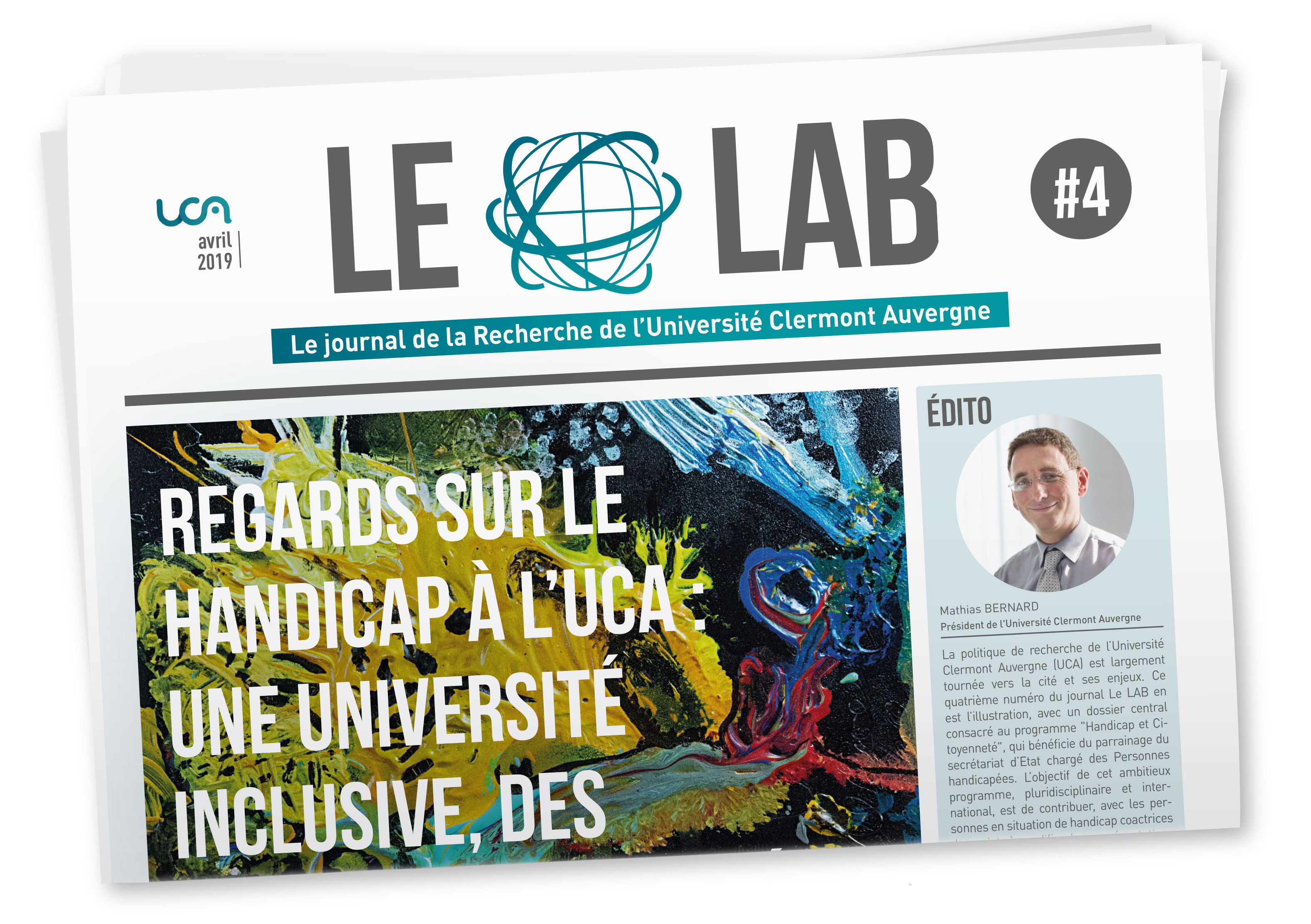 Couverture LE LAB avril 2019